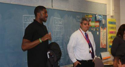 McKinley Elementary w/ E'Twaun Moore