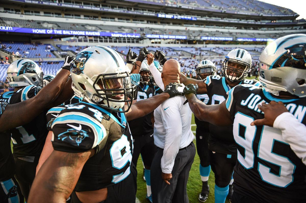 Carolina Panthers 2016 Football Headshots