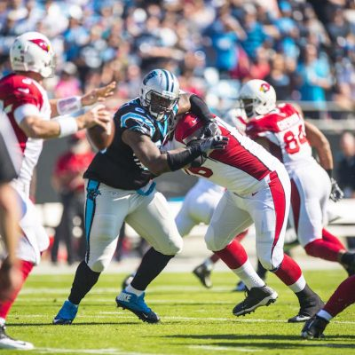 Carolina Panthers play against the Arizona Cardinals at Bank fo America Stadium on Sunday, October 30, 2016 in Charlotte, NC.