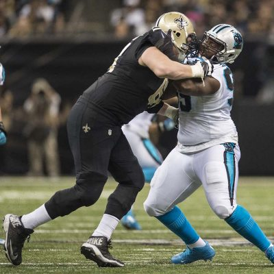 Carolina Panthers play against the New Orleans Saints on Sunday, December 6, 2015.