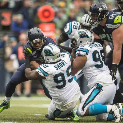 Carolina Panthers play against the Seattel Seahawks on Sunday, October 18, 2015.