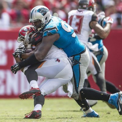 Carolina Panthers play against the Tampa Bay Buccaneers on Sunday, October 4, 2015 in Tampa, FL.
