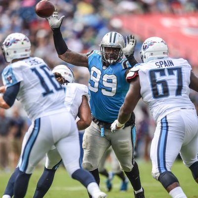 This is a 2016 photo of   of the Carolina Panthers NFL football team. This image reflects the 2016 active roster as of May 12, 2016 when this images was taken. (AP Photo)