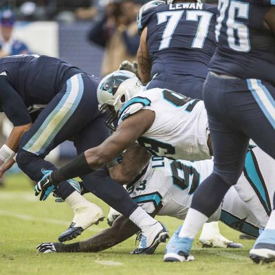 Carolina Panthers play against the Tennessee Titans on Sunday, November 15, 2015.