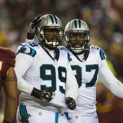 Carolina Panthers play against the Washington Redskins at FedEx Field on Monday, December 19, 2016 in Landover, MD.