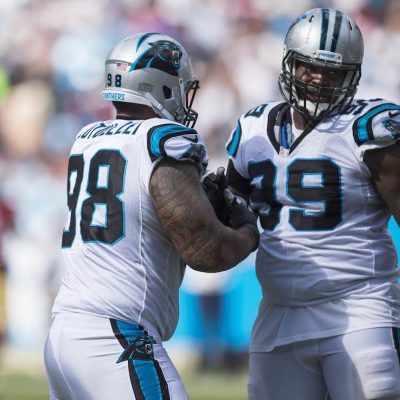 Carolina Panthers play against the San Francisco 49ers on Sunday, September 18, 2016 at Bank of America Field in Charlotte, NC.